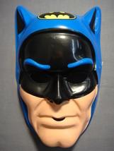 Dc Comics Justice League Blue Batman With Logo Halloween Mask Pvc New - $9.95