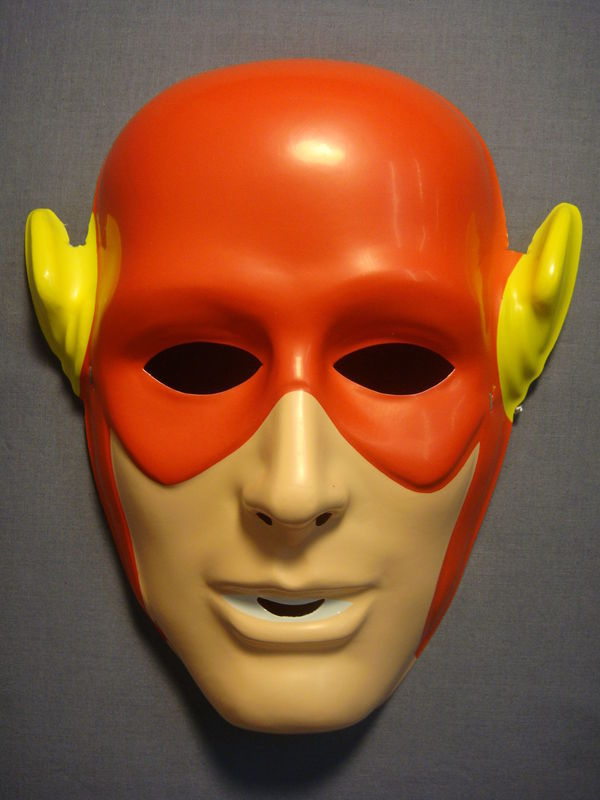 DC COMICS JUSTICE LEAGUE THE FLASH HALLOWEEN MASK - B