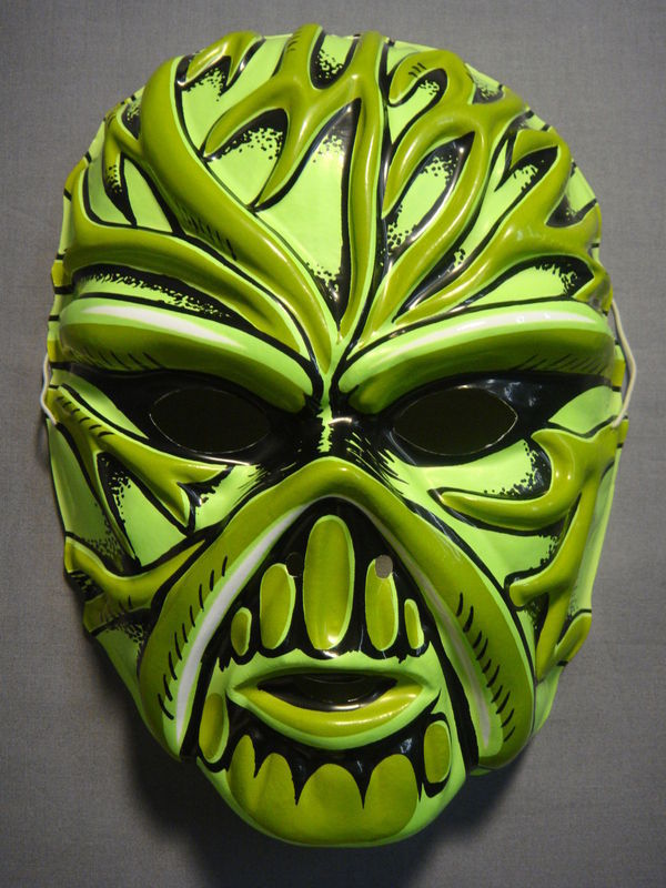 DC COMICS SWAMP THING CREATURE BEAST HALLOWEEN MASK PVC NEW