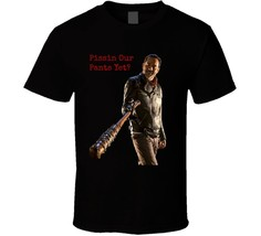 Negan Pissin Our Pants Yet Walking Dead TShirt Jeffrey Dean Morgan Novel... - $17.79+