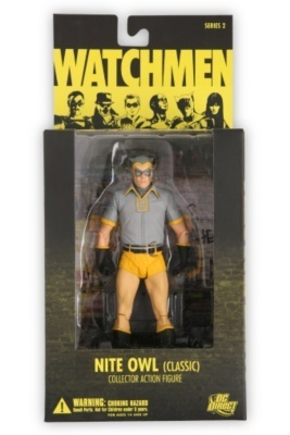 DC DIRECT WATCHMEN NITE OWL ACTION FIGURE SERIES 2