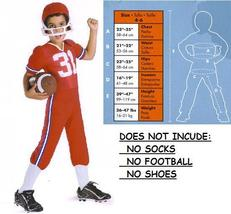 LINEBACKER COSTUME WITH MUSCLES CHILD'S SM 4/6 - $35.00