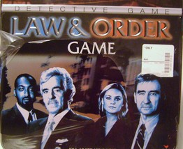 Law & Order Board Game in a Tin - $12.00