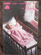 Vintage Patons Knitting Crochet Patterns BABY Outfits Christening Dress ... - $5.99