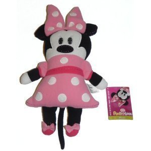 "DISNEY MINNIE MOUSE POOK A LOOZ 14"" SOFT STUFFED DOLL"