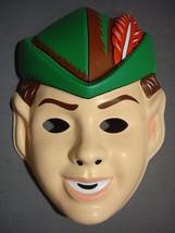 Disney Peter Pan Halloween Mask Pvc New - $5.95