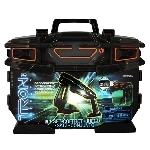 DISNEY TRON LEGACY RECOGNIZER PLAYSET INCLUDES ONE LIGHT CYCLE NEW