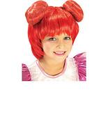 DORIE'S WIG CHILD SIZE MAGICAL DOREM ORANGE BUNS - $9.95