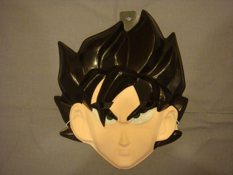 DRAGON BALL-Z MASK GOKU PVC HALLOWEEN MASK COLLECTIBLE