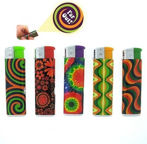 FLASH BACK TO THE PSYCHEDELIC LIGHTERS FAR OUT GROOVY