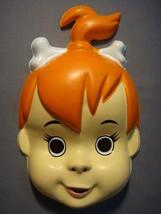 The Flintstones Pebbles Halloween Mask Pvc New - $10.95