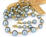 Vintage grey gray faux pearl necklace earrings japan thumb155 crop