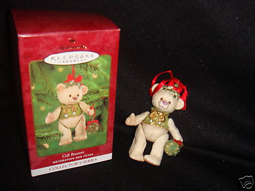 GIFT BEARERS HALLMARK COLLECTOR'S PORCELAIN ORNAMENT