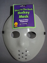 Glow In The Dark Hockey / Goalie Halloween Mask New - $6.95