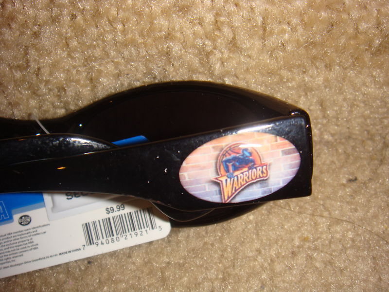 GOLDEN STATE WARRIORS SUNGLASSES NBA