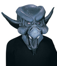 GOTHIC GARGOYLE DEMON ADULT LATEX HALLOWEEN MASK NEW - $9.95