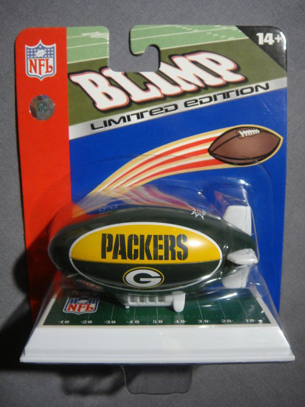 GREEN BAY PACKERS LIMITED EDITION BLIMP FLEER NEW NFL