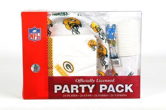 GREEN BAY PACKERS PARTY PACK  NFL NEW 24 SERVINGS