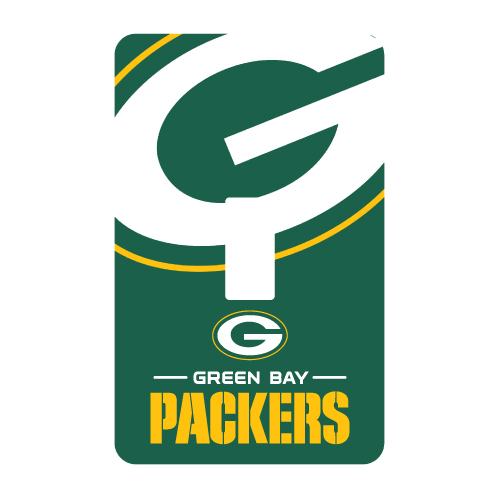 GREEN BAY PACKERS PEELNSTICK SINGLE SWITCH PLATE COVER