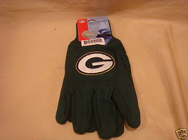 Green Bay Packers Utility Gloves Nfl Football New - $4.95