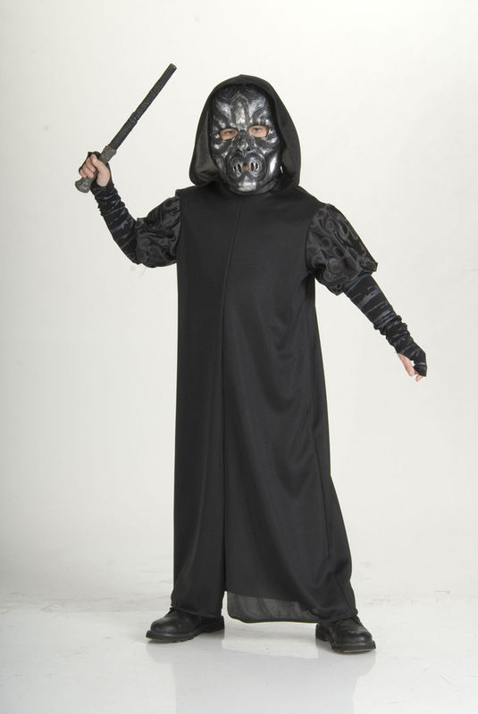 HARRY POTTER DEATH EATER HALLOWEEN COSTUME CHILD SMALL