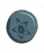 Small Wild Blueberry 2330s handmade clay button... - $1.60