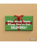 Who Needs Santa Sign Christmas New - $14.95
