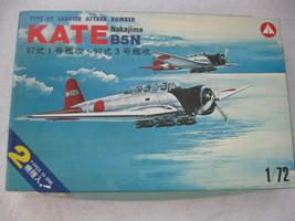 KATE Nakajima B5N Carrier Attack Bomber Model Airplane  1:72 Scale - $24.74