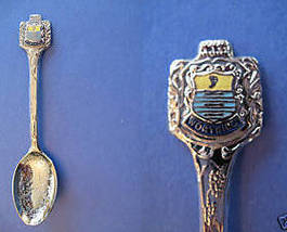 WORTHING Sussex ENGLAND Souvenir Collector Spoon Collectible FISH Great Britain - $6.95