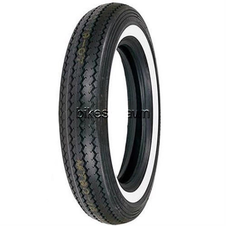 New Shinko Classic 240 Wide White Wall Front, Rear MT90-16 Motorcycle Tire 74 H