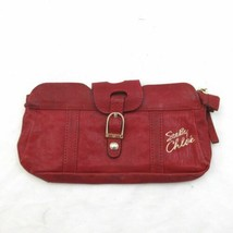 See By Chloe Red Leather Zip & Clasp Top Small Clutch Wallet Bag 0000MB - $32.00
