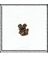 10  COPPER PANDA with Baby   Nail Top  CHARMs Wholesale - $4.68