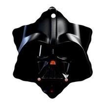 Star Wars Darth Vader Lightsaber Procelain Ornaments (Snowflake) Christmas - $6.99