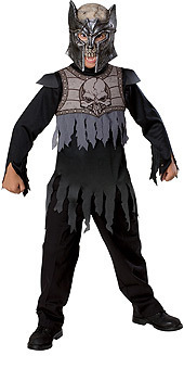 HORRORLAND DARK KNIGHT COSTUME CHILD SIZE SMALL BY RUBIES SIZE 4-6