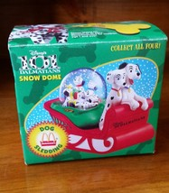 1996 McDonalds Dog Sledding Snow Dome Disney 10... - $5.94