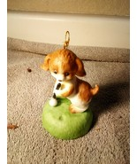 GOLF ORNAMENT--PUPPY -- CHRISTMAS --HANGING----FREE SHIP--NEW - $10.08