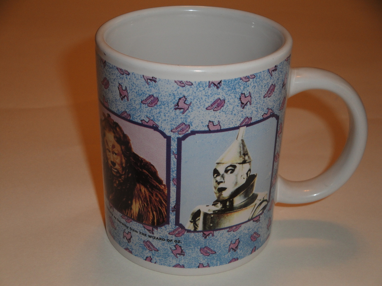 Primary image for Wizard of Oz Mug Scarecrow, Cowardly Lion, Dorothy and Toto, Tin Woodman