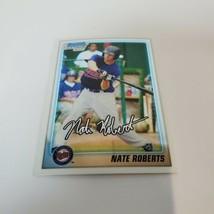 2010 Bowman Chrome Draft Prospect Baseball BDPP37 Nate Roberts - $5.00