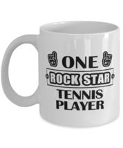 Tee-ball Player Coffee Mug - Rock Star - Funny 11 oz Tea Cup For Sports Fans  - $13.95