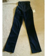 NEW A Glow Maternity Jeans Denim Bootcut Size 4 401 Rinse Wash Dark Blue - $24.74