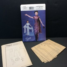 Vogue Craft Fashion Doll Sewing Pattern 7106 Gene Evening Dress Clothes - $14.27