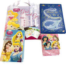 Disney Princess  How to Be a Princess Grab & Go Activity Book Princess Notepad - $14.84