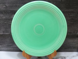 "Vintage Fiesta Original Green Large Chop Plate 12.25"" Diameter Round Pla... - $19.80"