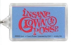 INSANE CLOWN POSSE ICP BLUE WRAITH KEYCHAIN