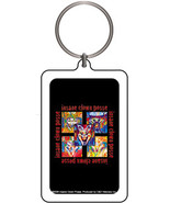INSANE CLOWN POSSE ICP CARD KEYCHAIN - $1.95