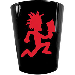 INSANE CLOWN POSSE ICP HATCHET BLACK SHOT GLASS 2oz NEW