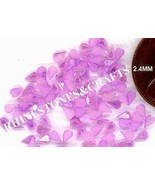 100  PEARLY  PURPLE TEAR DROPS  Designer Nail Art - $2.99