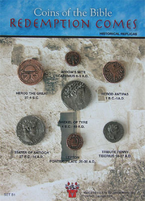 (DM B 001) Coins of Bible - Redemption Comes *