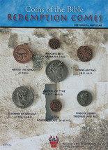 (DM B 001) Coins of Bible - Redemption Comes * - $20.90