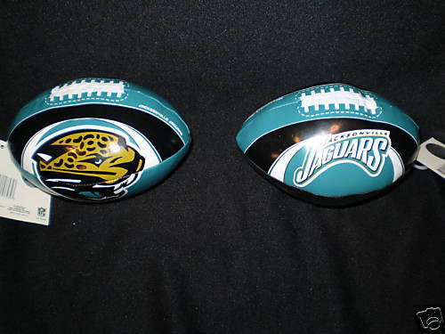 "JACKSONVILLE JAGUARS FOOTBALL 6"" SOFTEE FOOTBALL NFL"